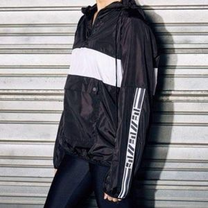 LF Black & White Windbreaker Jacket